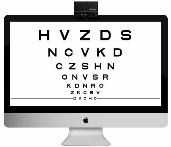 field vision test