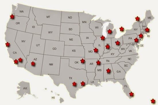 The Best Optometry Schools In The US Beaumont Vision - Us map by best schools